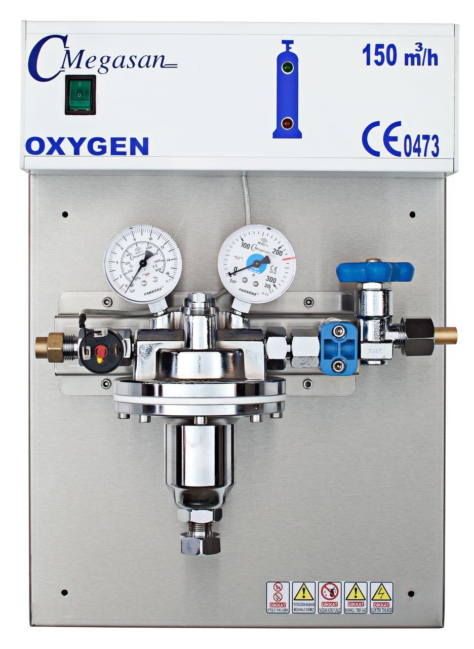 Редукторный блок высокого давления закись азота
