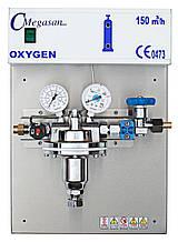 Редукторный блок высокого давления чистого азота