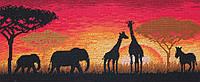 "Набір для вишивання ""Африканський горизонт (African Horizon)"" ANCHOR MAIA"