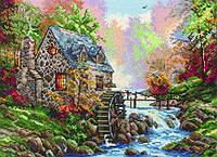"""Набір для вишивання """"Водяний млин (Cobblestone Mill)"""" ANCHOR MAIA"""