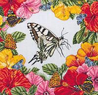 """Набір для вишивання """"Весняні метелики (Spring Butterflies)"""" ANCHOR MAIA"""