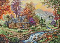 "Набір для вишивання ""Будиночок в горах (Mountain Retreat)"" ANCHOR MAIA"