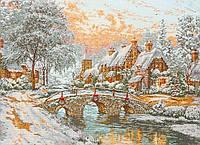 """Набір для вишивання """"Різдво (Cobblestone Christmas)"""" ANCHOR MAIA"""
