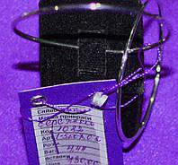 Казкові срібні сережки -кільця родовані