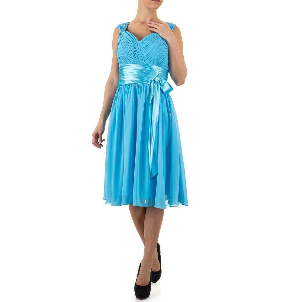 Женское платье от Festamo, размер 36 - синий - Мкл-F1138-синий 36