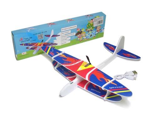 Самолет Планер с мотором и зарядкой USB