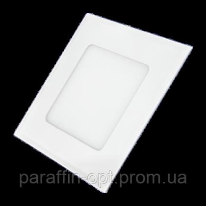 Світильник світлодіодний  7W 3000K (квадратний), фото 2