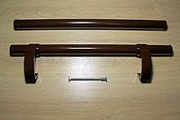"""Ручка дверная """"Труба"""" коричневая"""