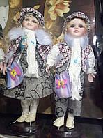 Фарфоровые коллекционные куклы набор мальчик и девочка