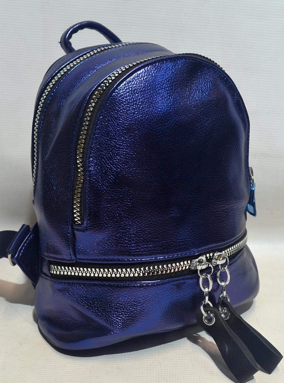 Модный женский рюкзак из кожзаменителя 8195