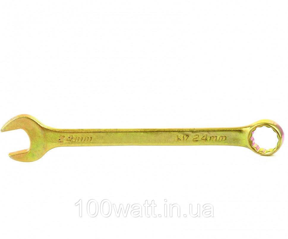 Ключ гаечный комбинированный рожково-накидной 24 mm