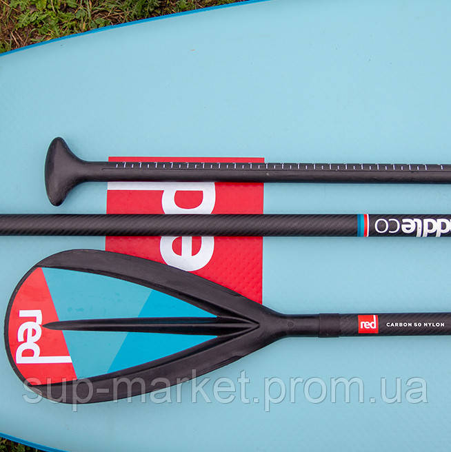 Весло для SUP Red Paddle Co Midi Carbon 50-Nylon 3pc (CamLock) 2019