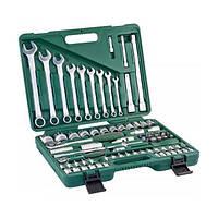 Универсальный набор инструментов Jonnesway 82 предмета (S04H52482S)