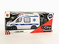 Машина скорой помощи на радиоуправлении, машинка