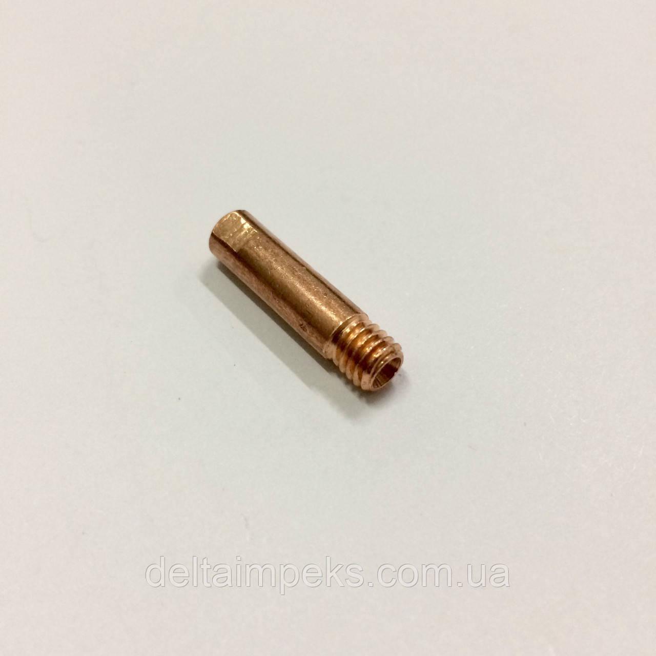 Наконечник E-Cu М6 D 1,0/6,0/25 для горелки ABIMIG 155 LW