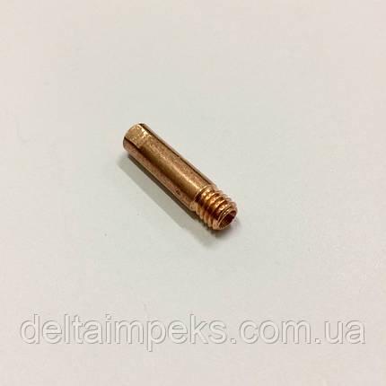 Наконечник E-Cu М6 D 1,0/6,0/25 для горелки ABIMIG 155 LW  , фото 2