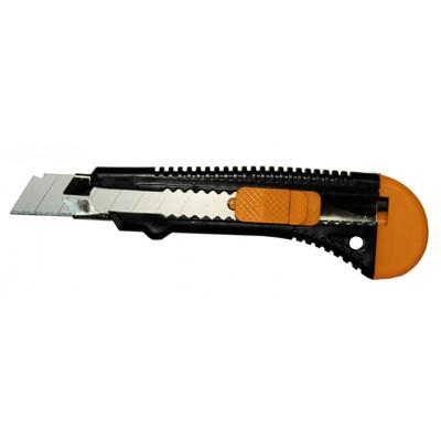 Нож прорезной усиленный 18 мм