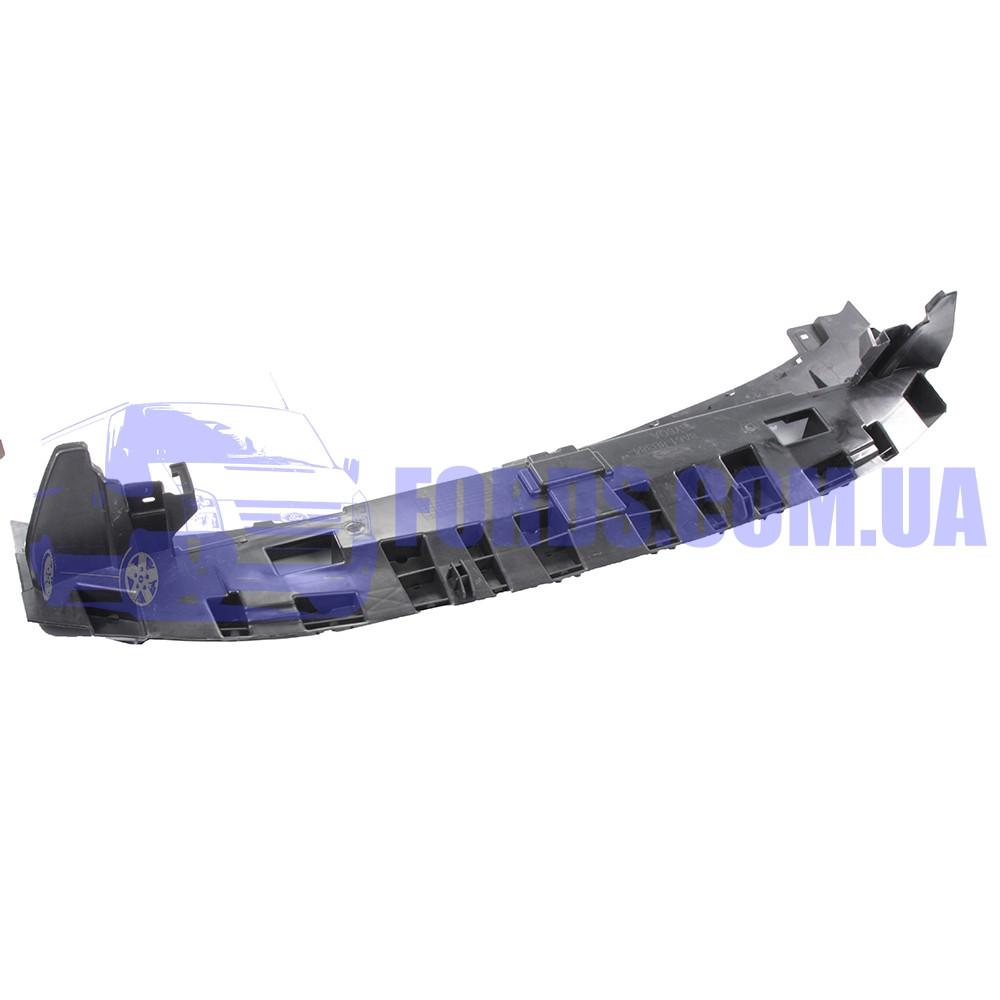 Дефлектор бампера переднего нижний FORD FIESTA 2008-2012 (1624418/8A618B384AF/BP76384) DP GROUP