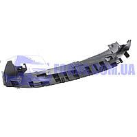 Дефлектор бампера переднего нижний FORD FIESTA 2008-2012 (1624418/8A618B384AF/BP76384) DP GROUP, фото 1