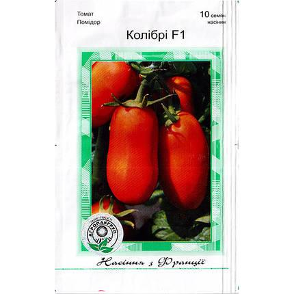 """Насіння томату високорослого, раннього, для відкритого/закритого ґрунту """"Колібрі"""" F1 (10 насінин), Clause, Франція, фото 2"""