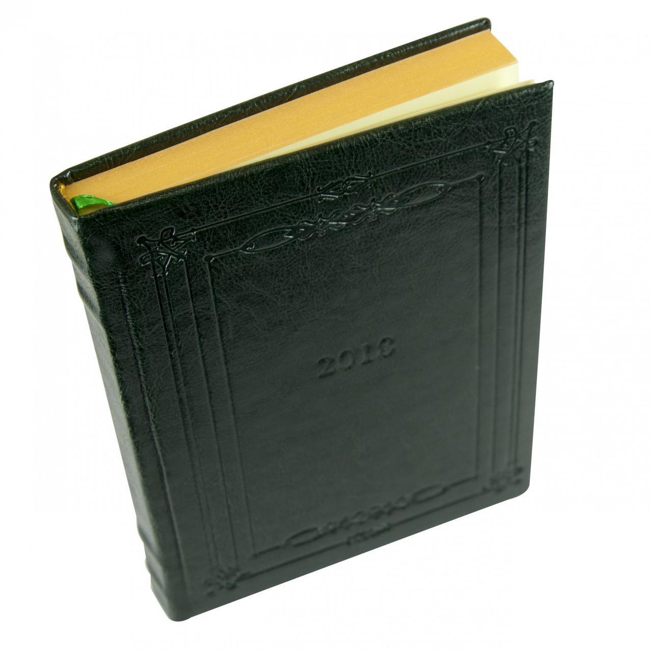 Ежедневник датированный Buromax Saga BM.2118-04 А5 зеленый