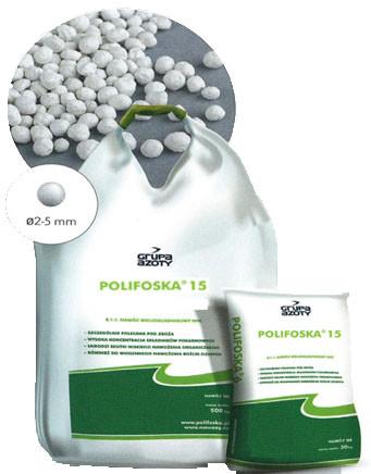 Комплексне добриво Поліфоска 15 NPK(MgS) 15-15-15-(20)