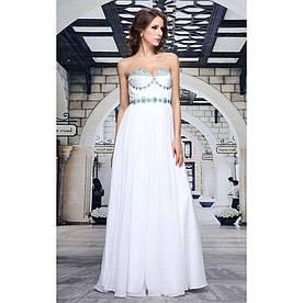 Женское платье от Festamo - белый - Мкл-F1040-белый