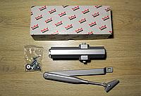 Доводчик Dorma TS Compakt EN 2/3/4 со складным рычагом,серебро, фото 1