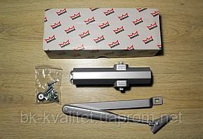 Доводчик Dorma TS Compakt EN 2/3/4 со складным рычагом,серебро