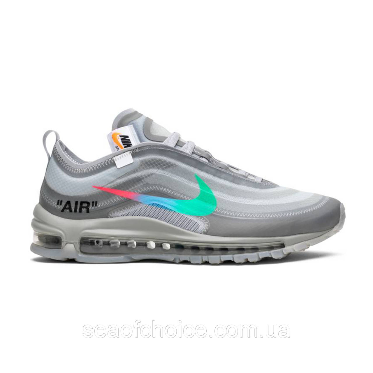 Кроссовки Off White x Nike Air Max 97 Menta