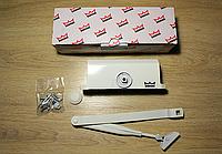 Доводчик Dorma TS77 EN4  с рычажной тягой, белый