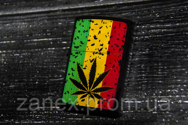 Зажигалка Arvin флаг растамана BN10, фото 2