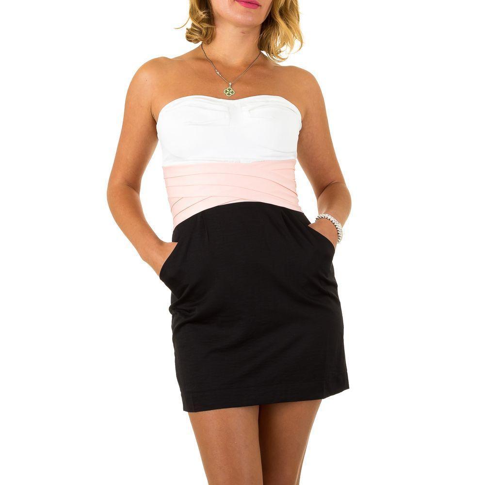 Женское платье от Usco, размер 34 - whiteblack - KL-IND437-whiteblack 34