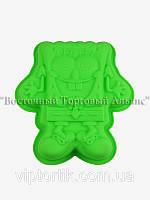 Форма силиконовая - Губка Боб - 25х25 см h5 см