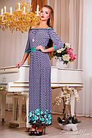 💧️Романтичное платье в пол с открытыми плечами / Размер S-M, L-XL, XXL-3XL / P11А6В1 - 873