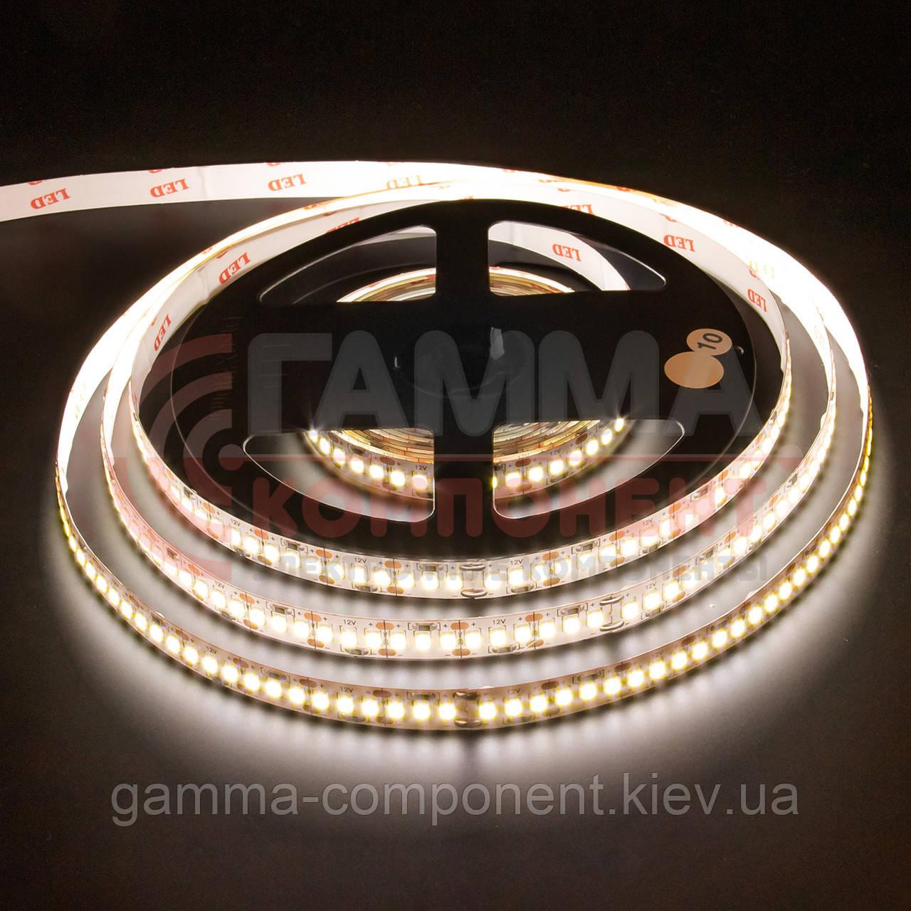 Светодиодная лента AVT PROFESSIONAL SMD 3014 (204 LED/м), теплый белый, IP20, 12В - бобины от 5 метров