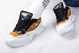 "Кроссовки женские Adidas x Raf Simons Ozweego III ""White Gold"" / NR-ADW-1523 (Реплика)"