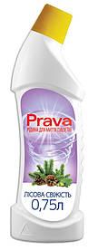 Жидкость для чистки туалетов Prava лесная свежесть 0.75 л (96-232)