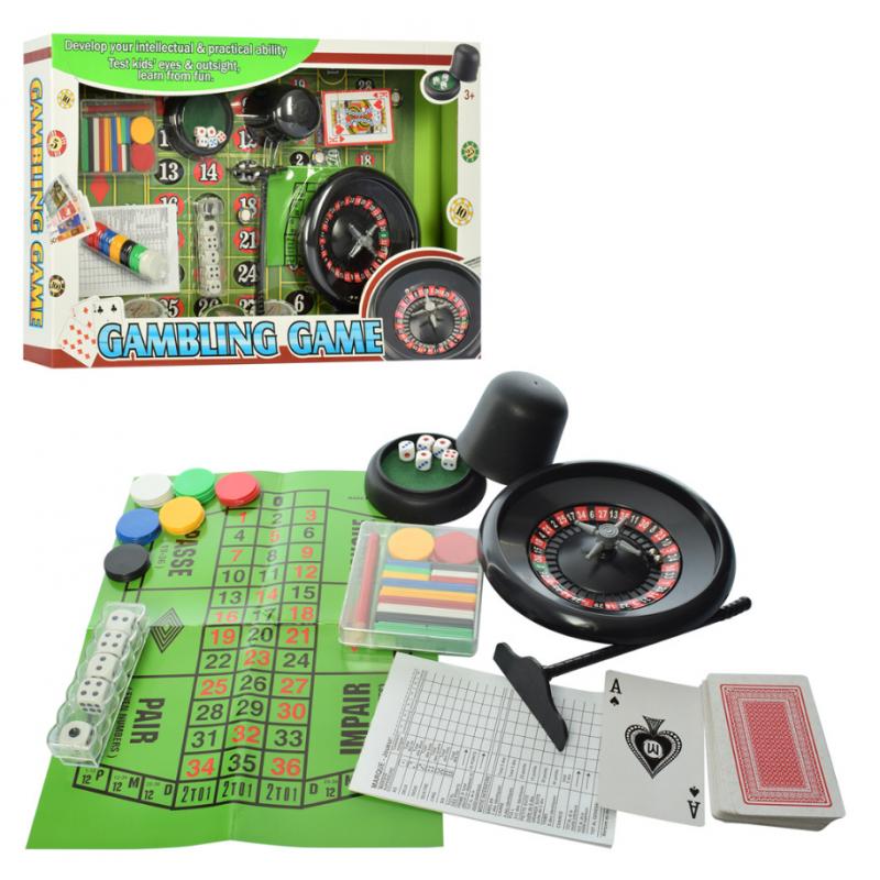 🔥✅ Настольная игра Gambling game 88130F Покер и рулетка