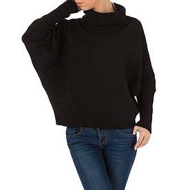 Женский свитер летучая мышь производителя Milas (Европа), Черный