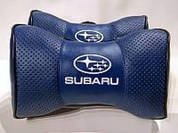 Подголовник (подушка) SUBARU BLUE, фото 1