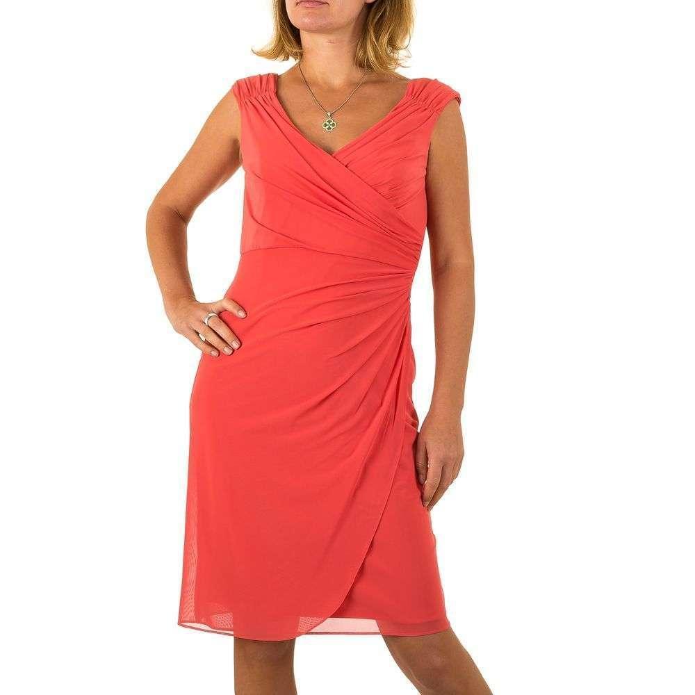 Женское платье от Vera Mont - Корал - Мкл-VM4640-Корал