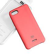 Силиконовый чехол на Xiaomi Redmi 6A Soft-touch Hot Pink