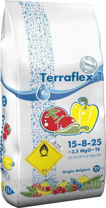 ТЕРРАФЛЕКС Т / TERRAFLEX T (15-8-25 + 3,5 MgO + TЕ), 25 кг Бельгія