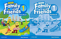 Английский язык Комплект Family and Friends 2nd Second Edition 1 ClassBook + WorkBook (UA)