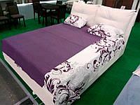 Кровать Шарм 1600 (белая) с подъемным механизмом, фото 1