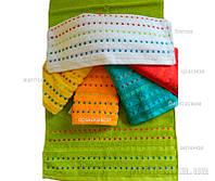 Махровое полотенце Zastelli Мозаика оранжевое 50х90 см