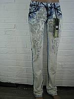 Джинсы женские C 019 светло-голубые 25-27