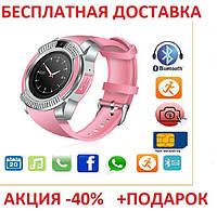 Наручные часы Smart V8 блистер Умные часы фитнес трекер,фитнес браслет,умные здоровье Original, фото 1