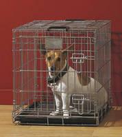 Savic (Савик) ДОГ РЕЗИДЕНС (Dog Residence) клетка для собак, цинк, цвет-хамершлак,61Х46Х53см
